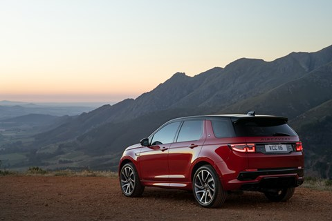 Discovery Sport rear static
