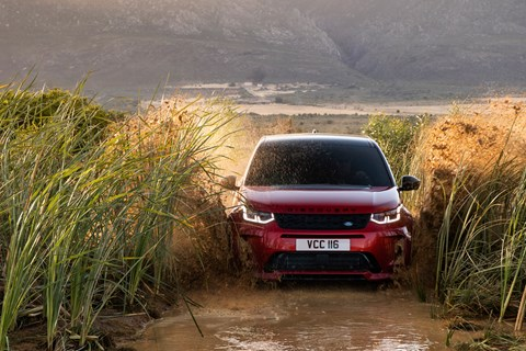 Discovery Sport wading