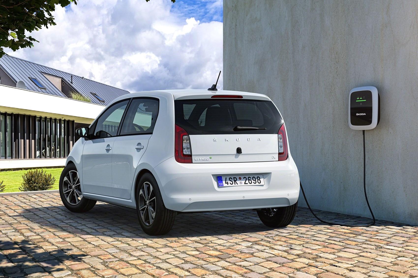 Skoda Citigo E Iv All Electric City Car Revealed Car Magazine