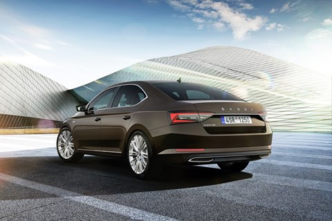 Skoda Superb LK rear