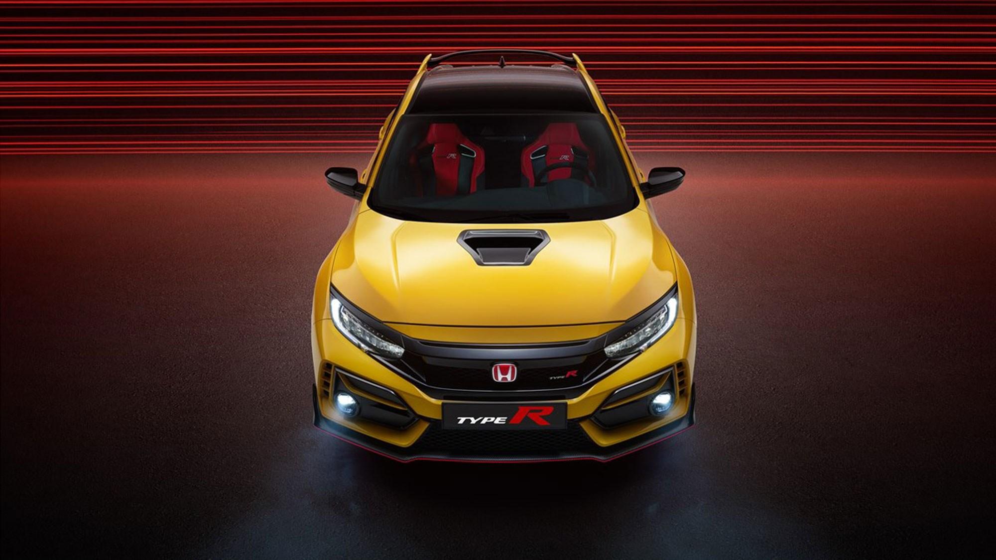 Honda Civic Type R: extreme Limited Edition revealed