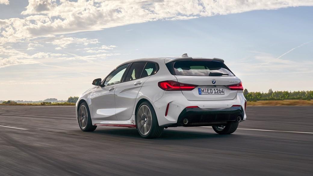 2020 BMW 1 Series 128ti - rear tracking