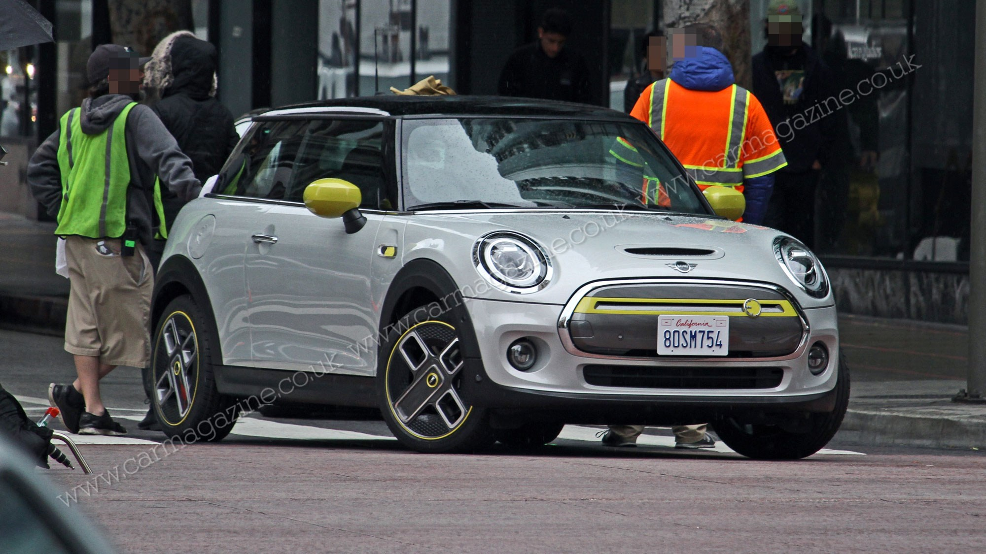 Mini Cooper Se Electric Hatch Pictured Without Camo Car Magazine