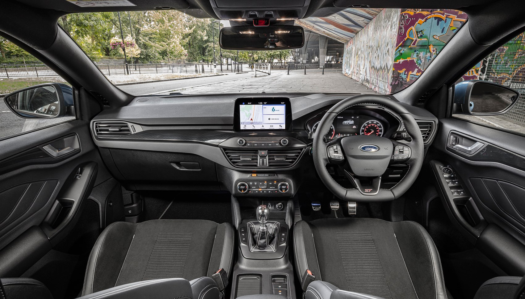 Ford Focus ST UK interior