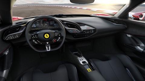 SF90 interior