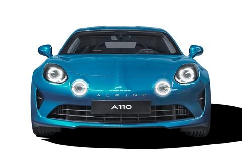 Alpine A110 front
