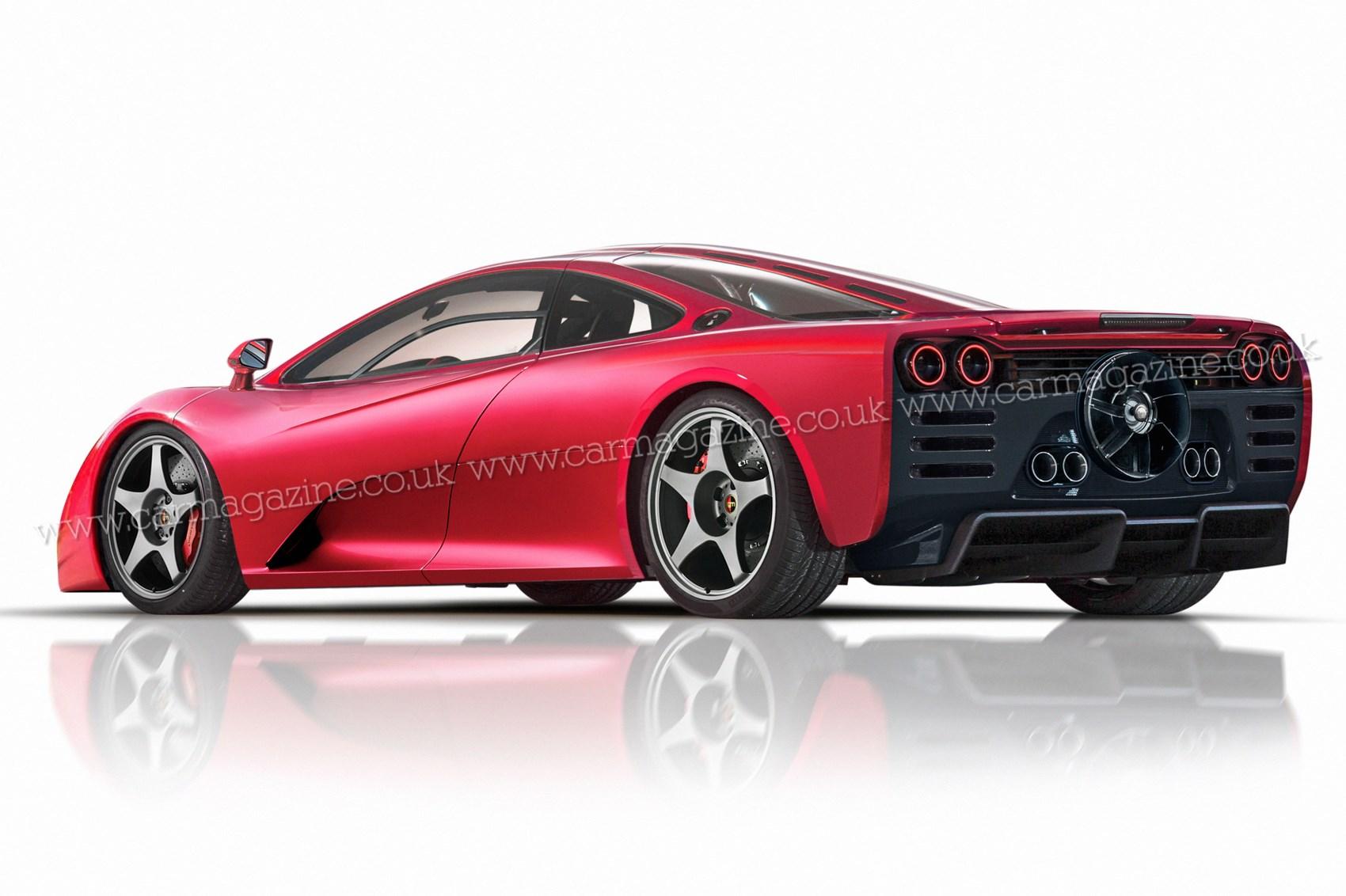 gordon murrays bhp kg mclaren  successor car magazine