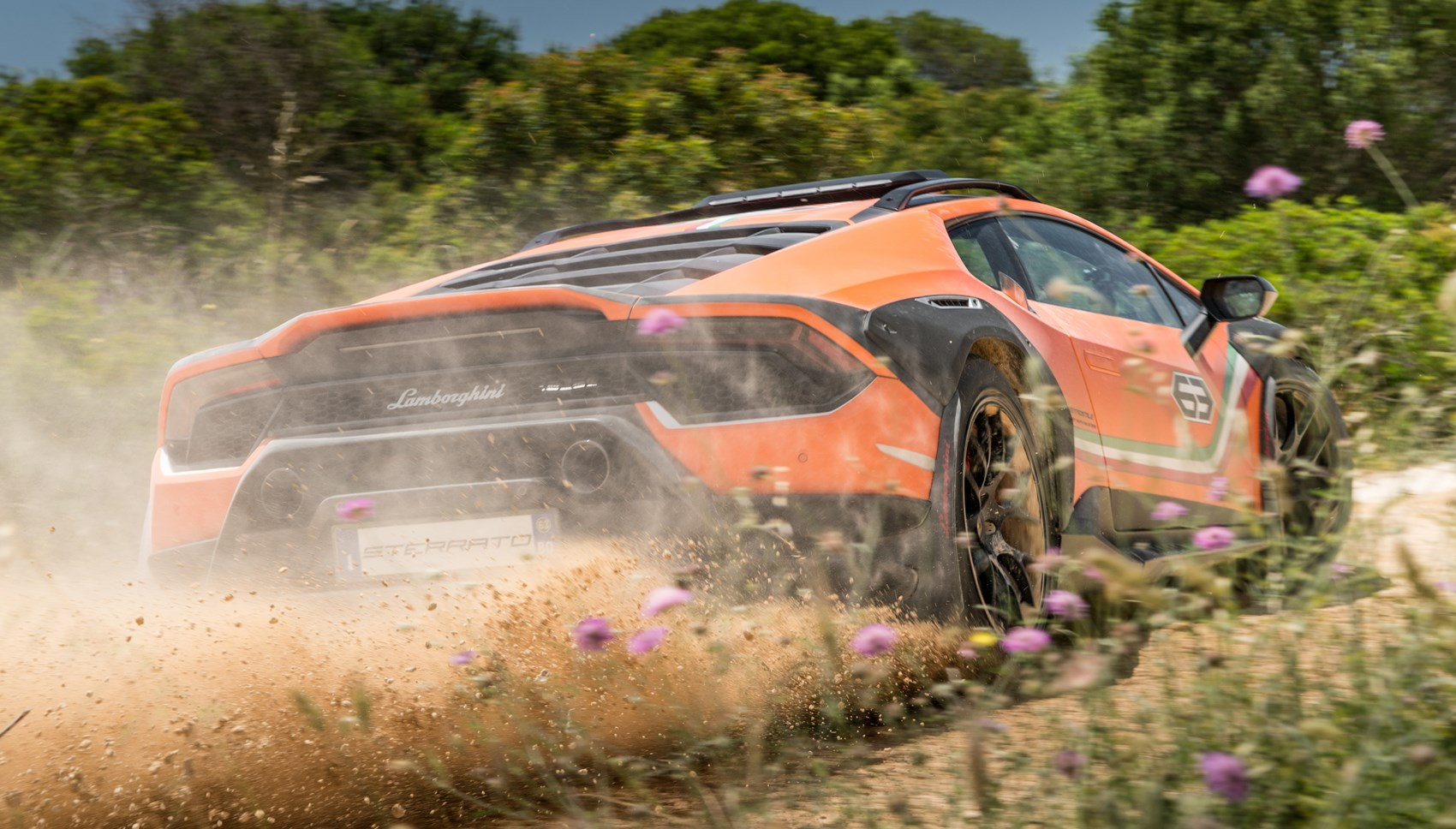 Huracan Sterrato off-road rear