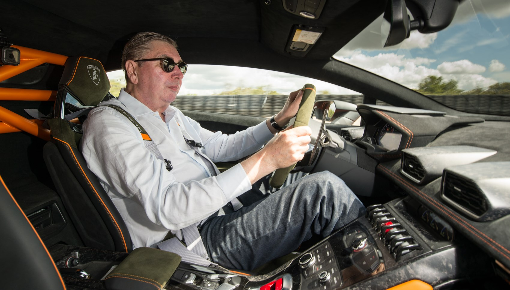 Huracan Sterrato Georg driving