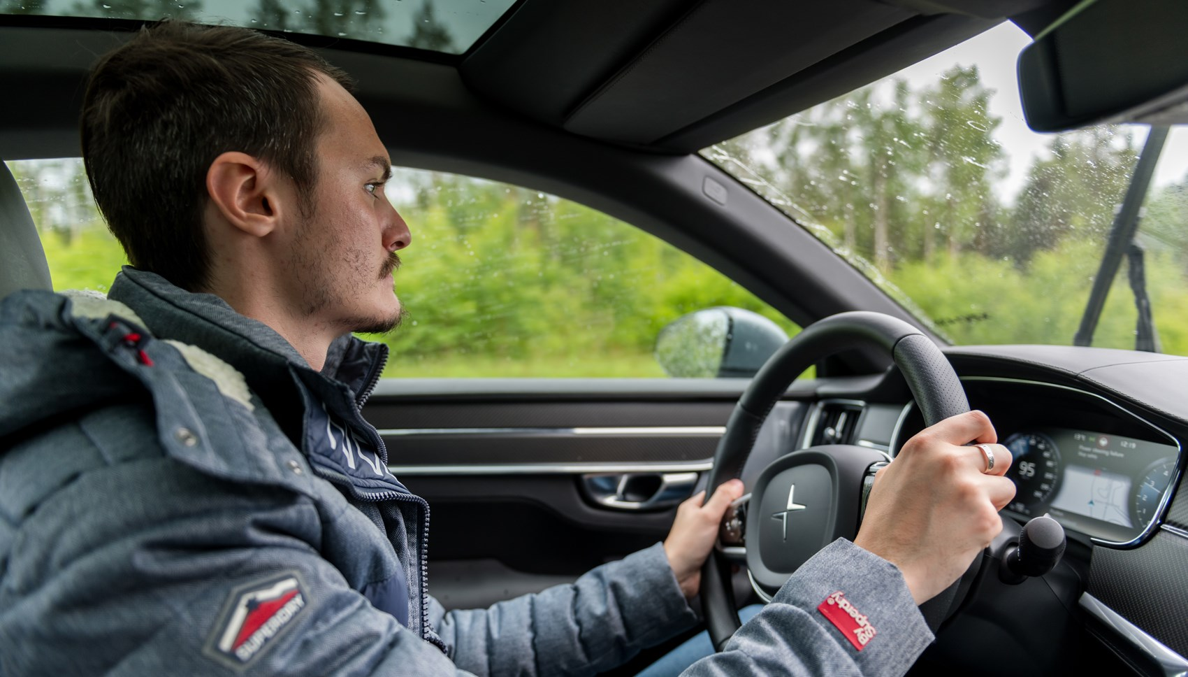 Polestar 1 prototype Jake driving