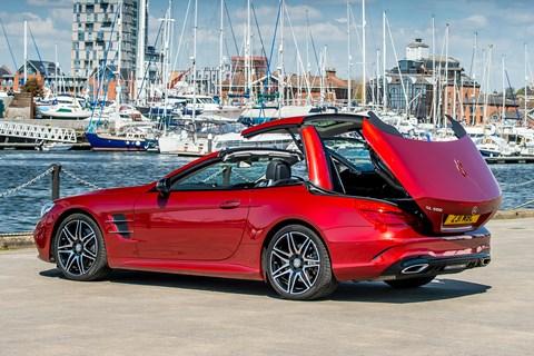 Mercedes SL hardtop