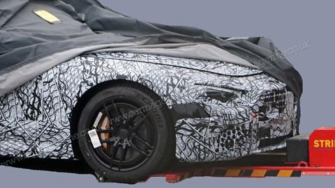 New 2021 Mercedes-Benz SL spy photos