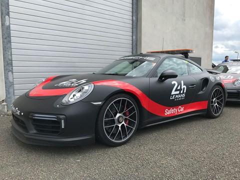 Porsche 911 Turbo safety car at 2019 Le Mans 24hrs