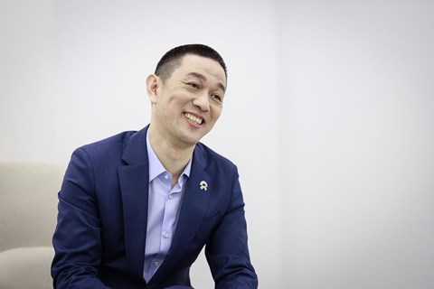 Nio founder William Li, interviewed by CAR magazine in Shanghai