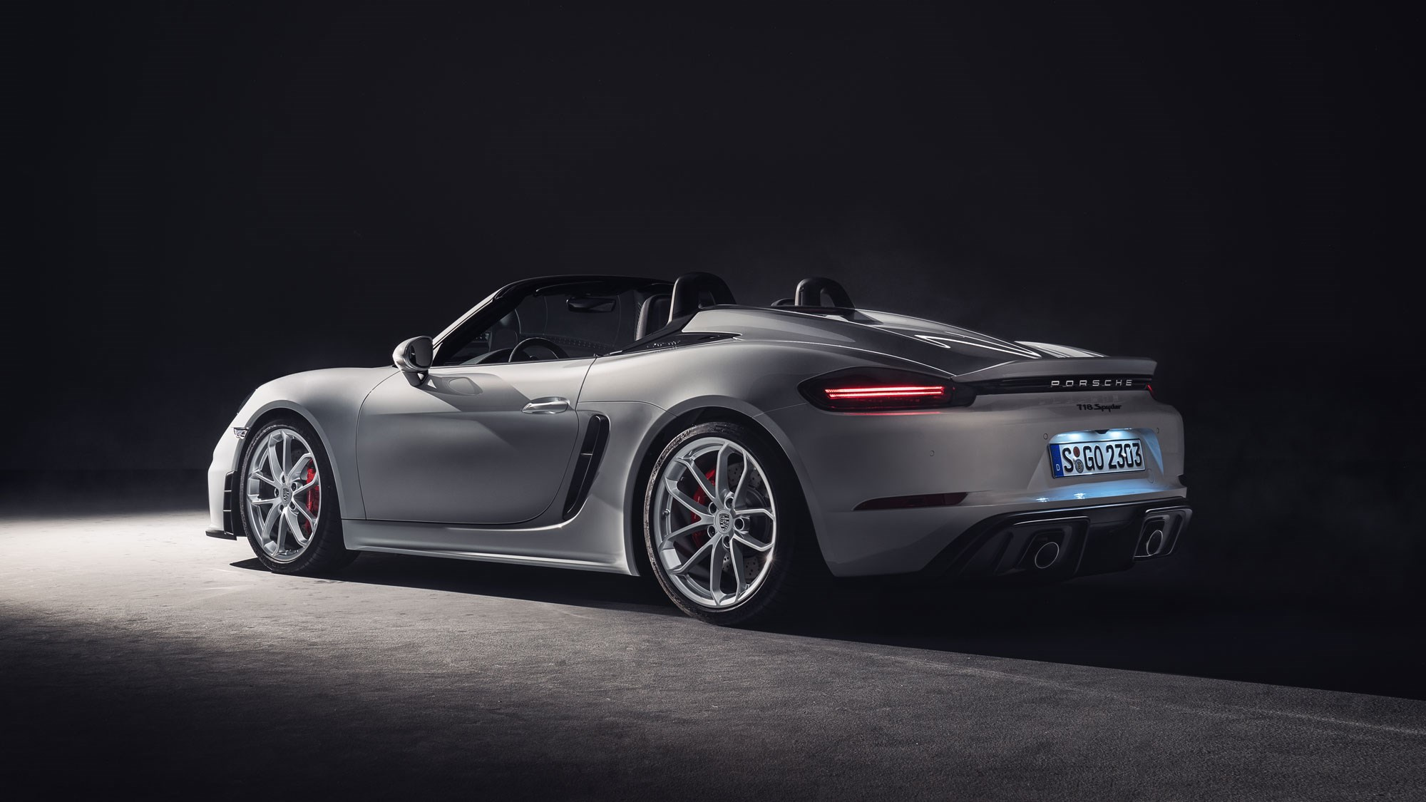 New Porsche 718 Spyder: Now A GT4 Without The Roof