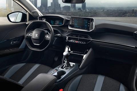 Peugeot 2008 interior manual