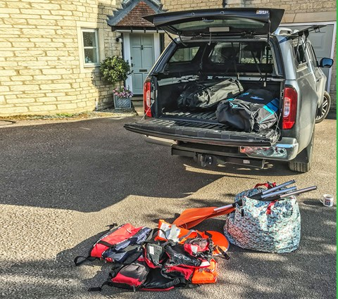 Packing the Mercedes-Benz X-Class: boot space, practicality and load volume dimensions