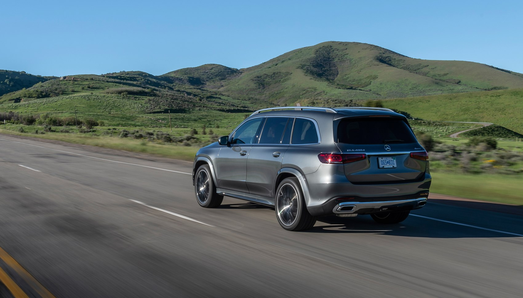 Mercedes GLS rear tracking