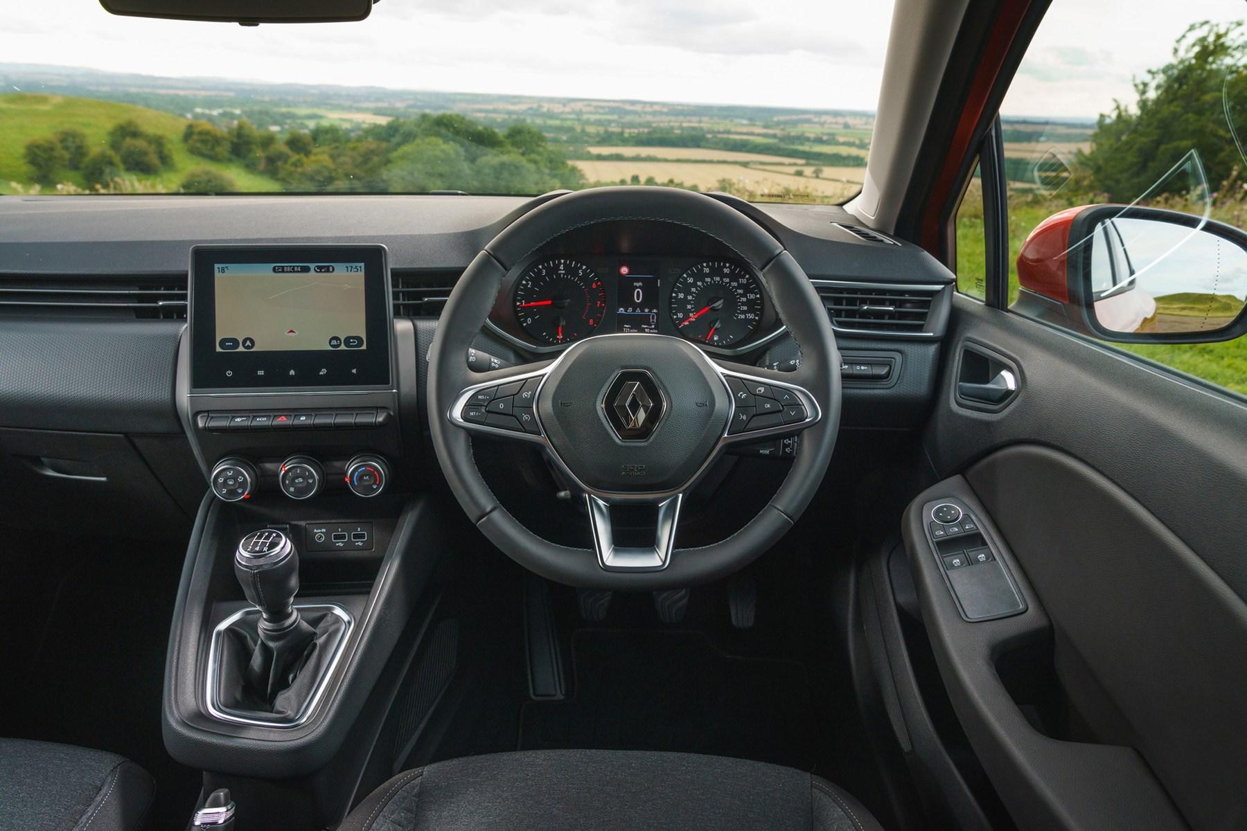 Renault Clio interior 2019