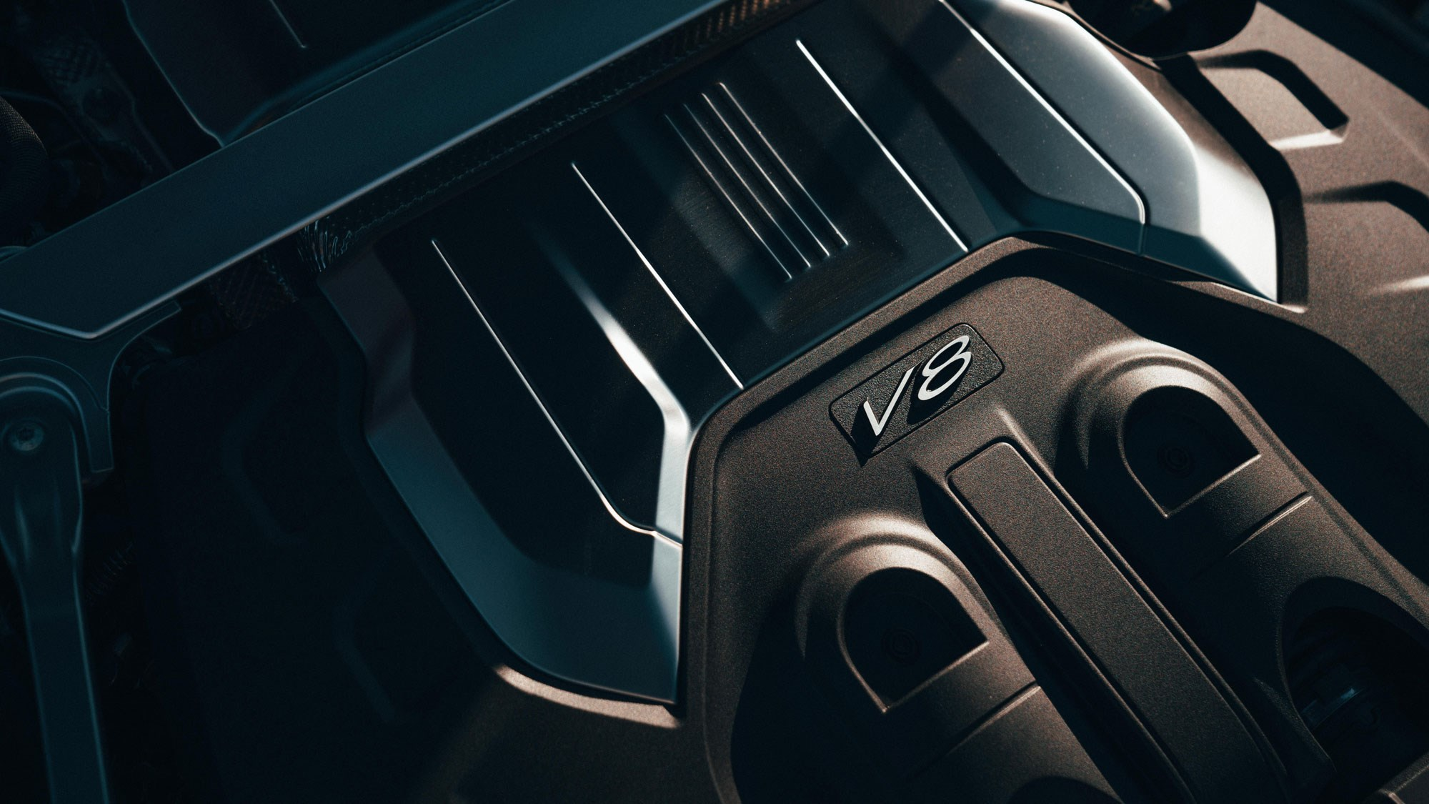 New Continental GT V8 engine