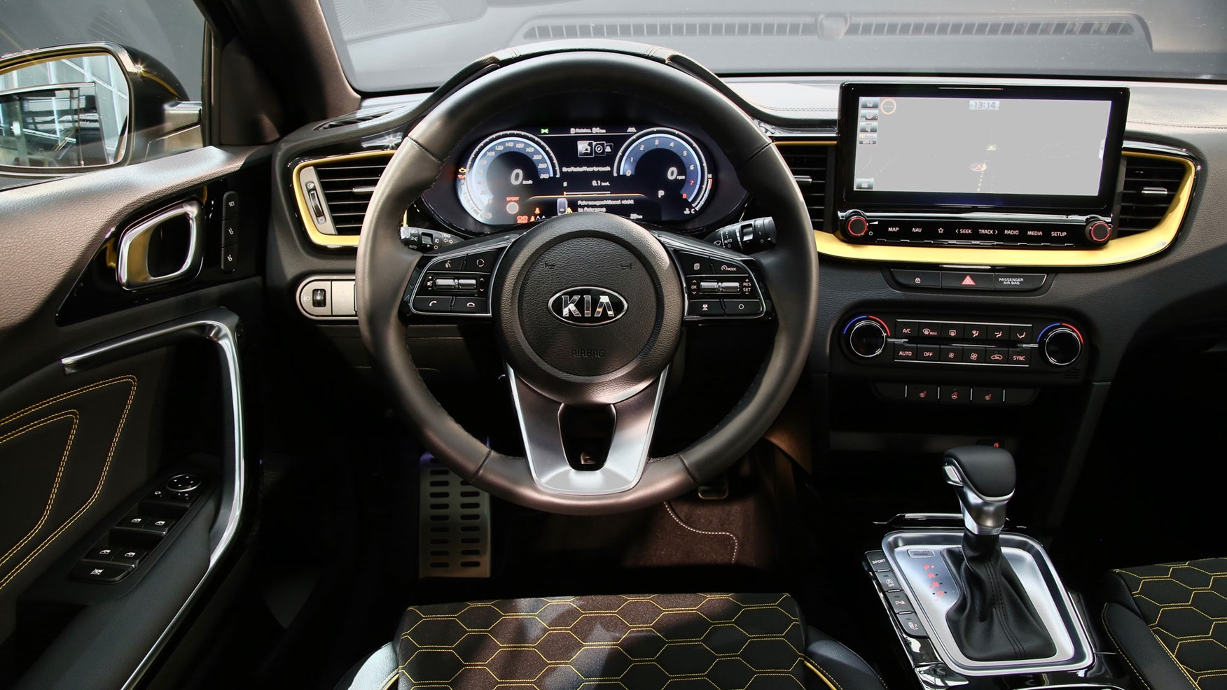 Kia Xceed New C Segment Crossover Revealed Car Magazine