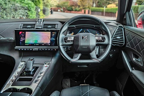 DS 7 Crossback interior