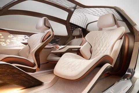 EXP 100 GT interior