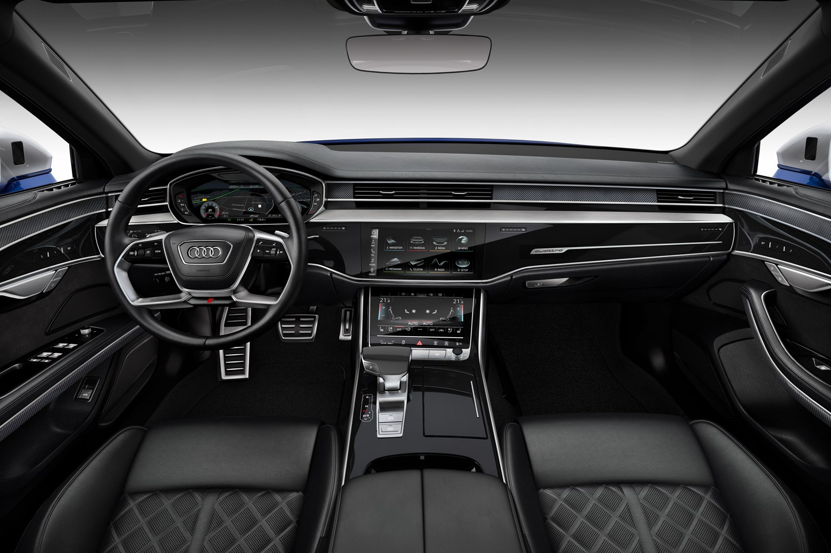 Behold! 2020 Audi S8 Arrives With Sleek Styling And Lots Of Power