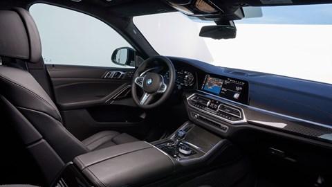 X6 interior