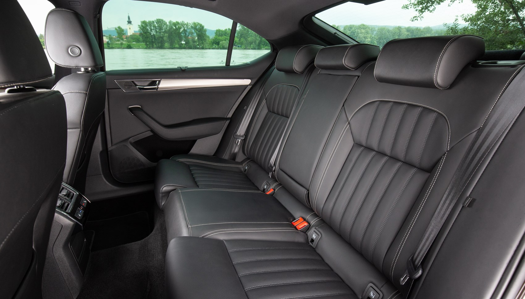 Superb rear seats