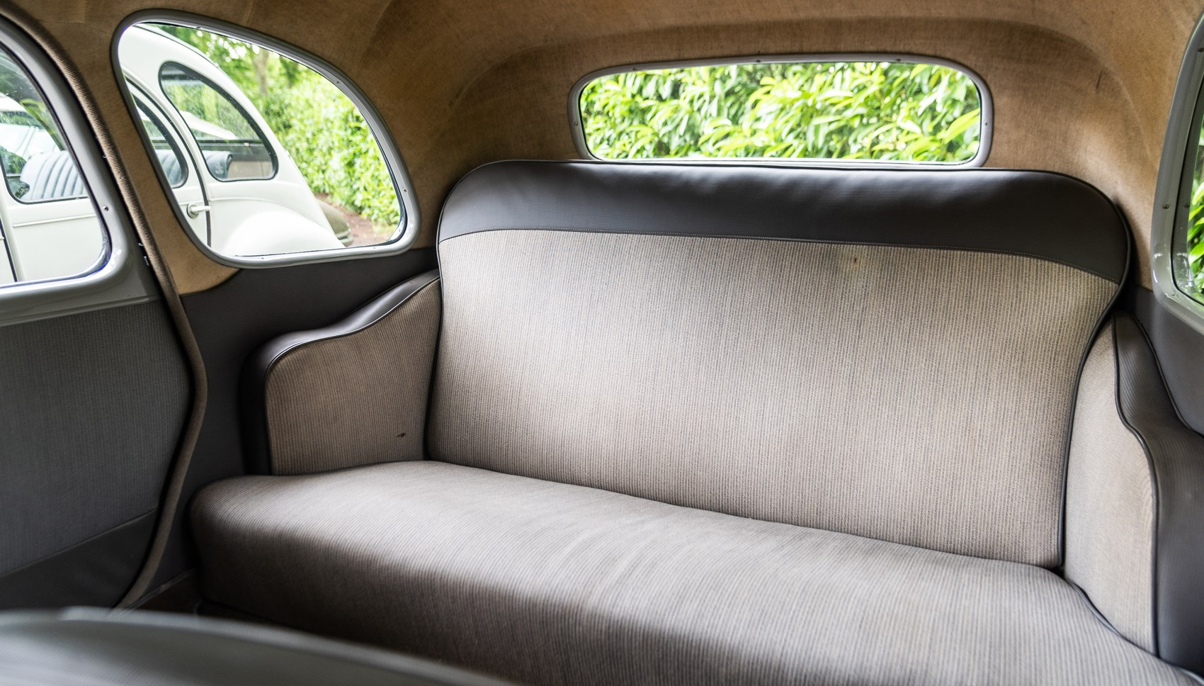 Citroen Traction Avant rear seats