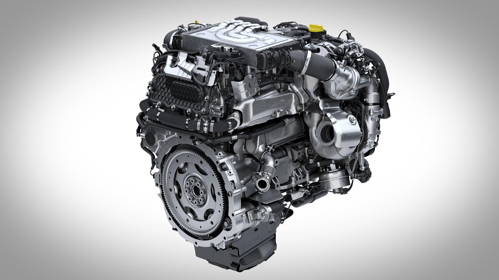 Land Rover Range Rover Sport D350 engine