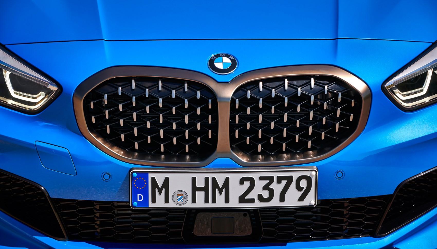 BMW 1-series nose