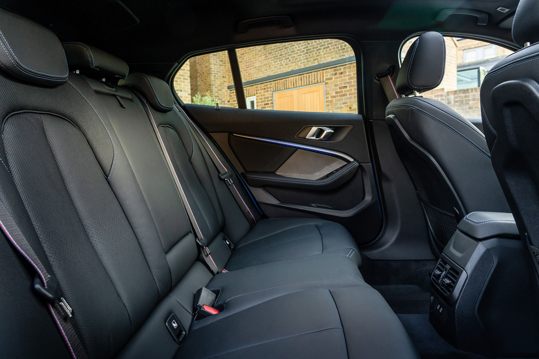 BMW 1-series rear seats: more space than before, but still quite a tight fit
