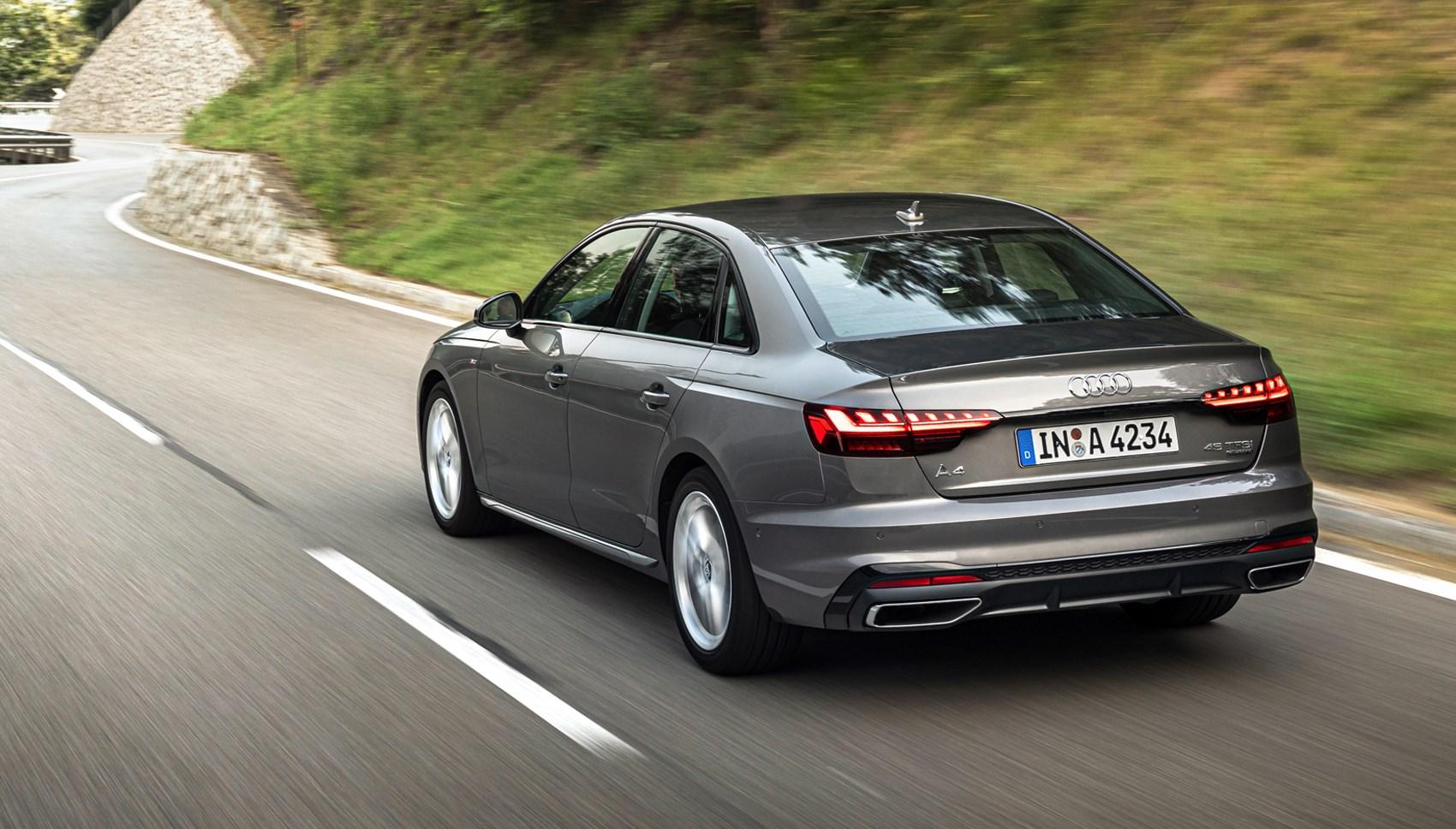 Audi A4 rear trackin