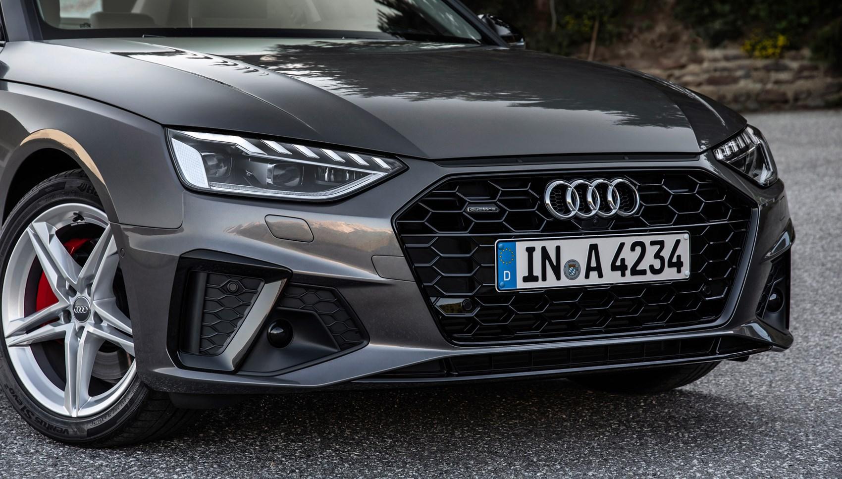 Audi A4 front end