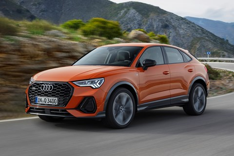 Q3 Sportback front tracking