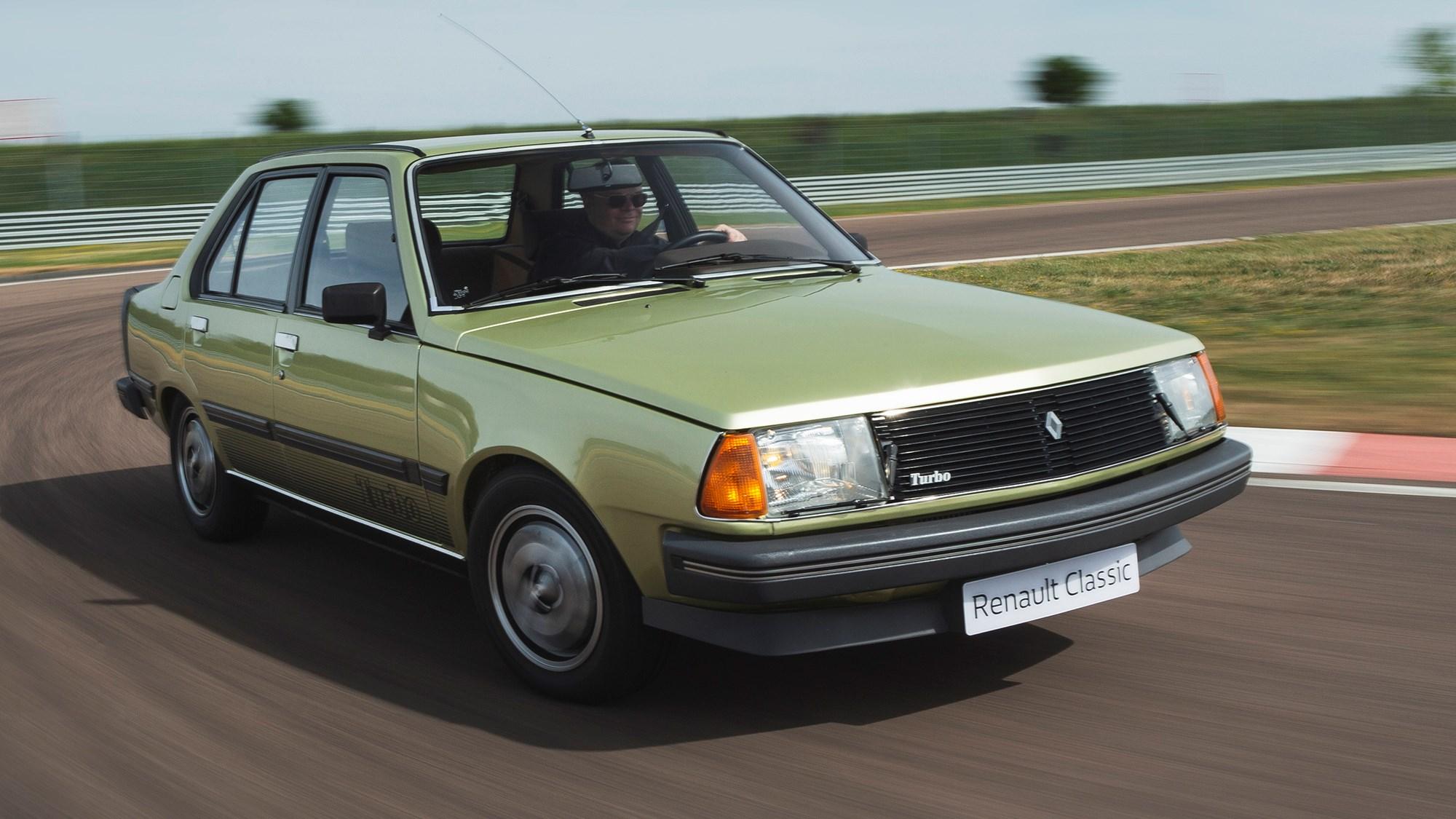 Renault 18 Turbo front cornering shot