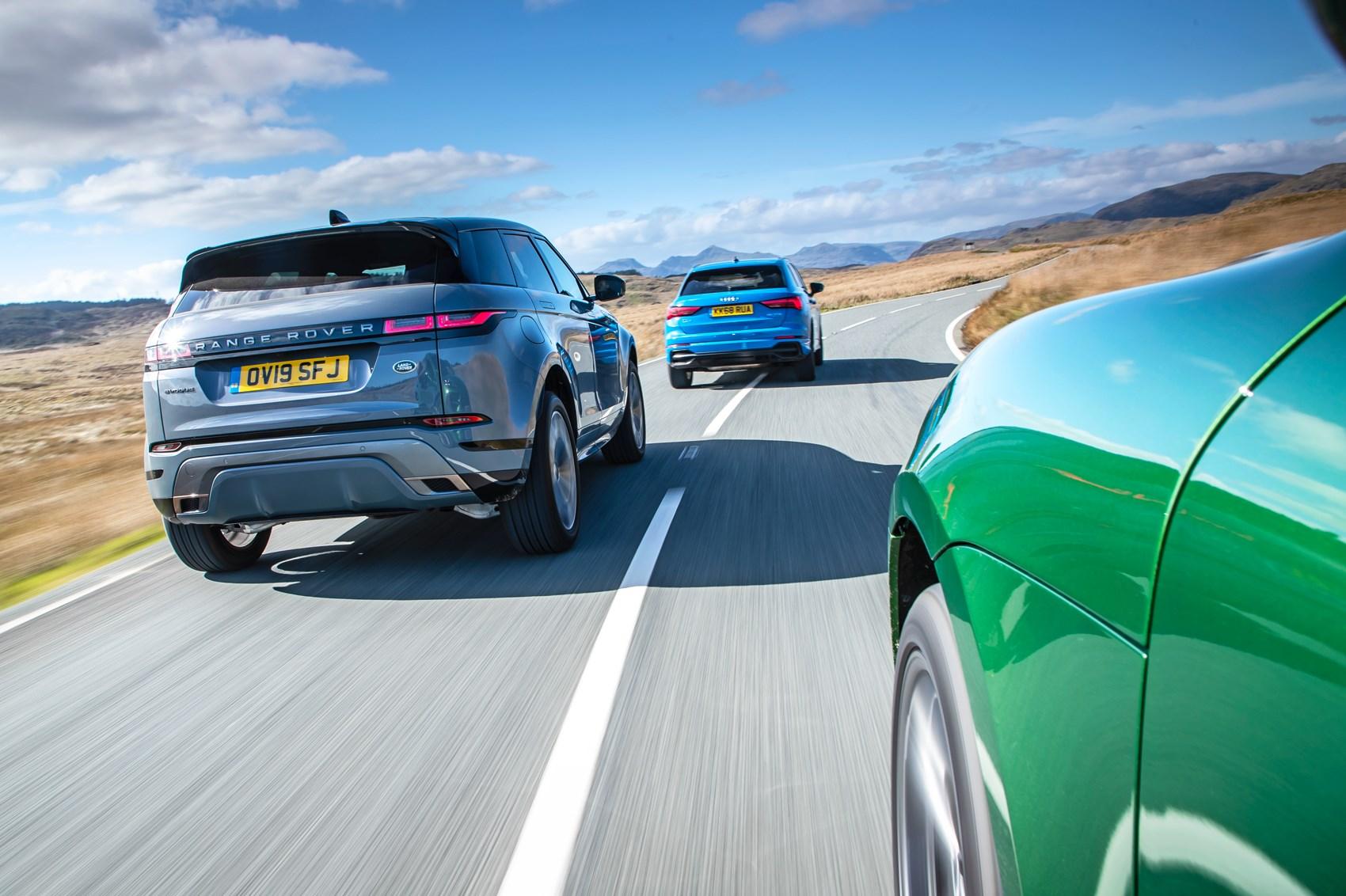 New Range Rover Evoque vs Q3 vs Macan | CAR Magazine