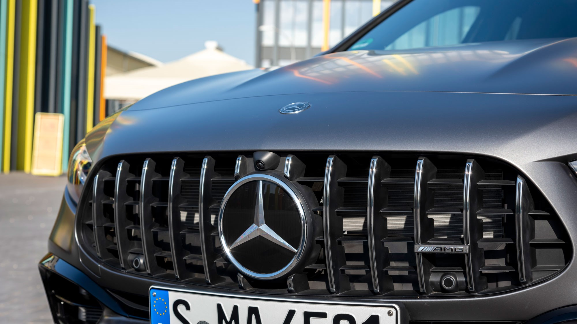 Mercedes AMG A45 grille