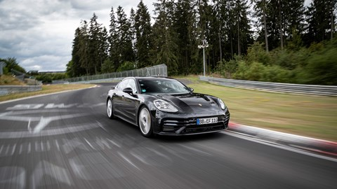 The Sport Turismo looks almost identical to the current car from the side...