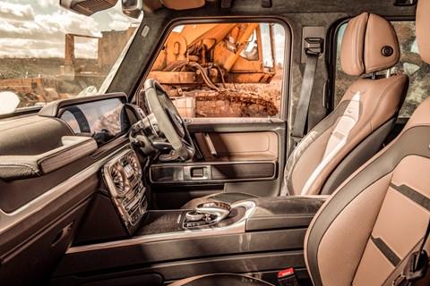Best 4x4 G63 interior