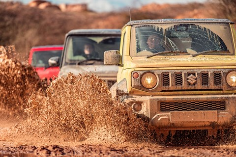 Best 4x4 Jimny convoy