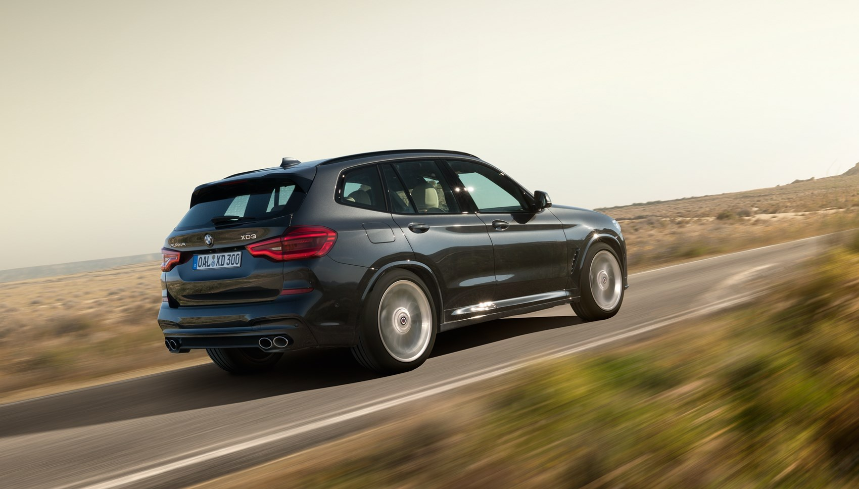 Alpina XD3 rear tracking