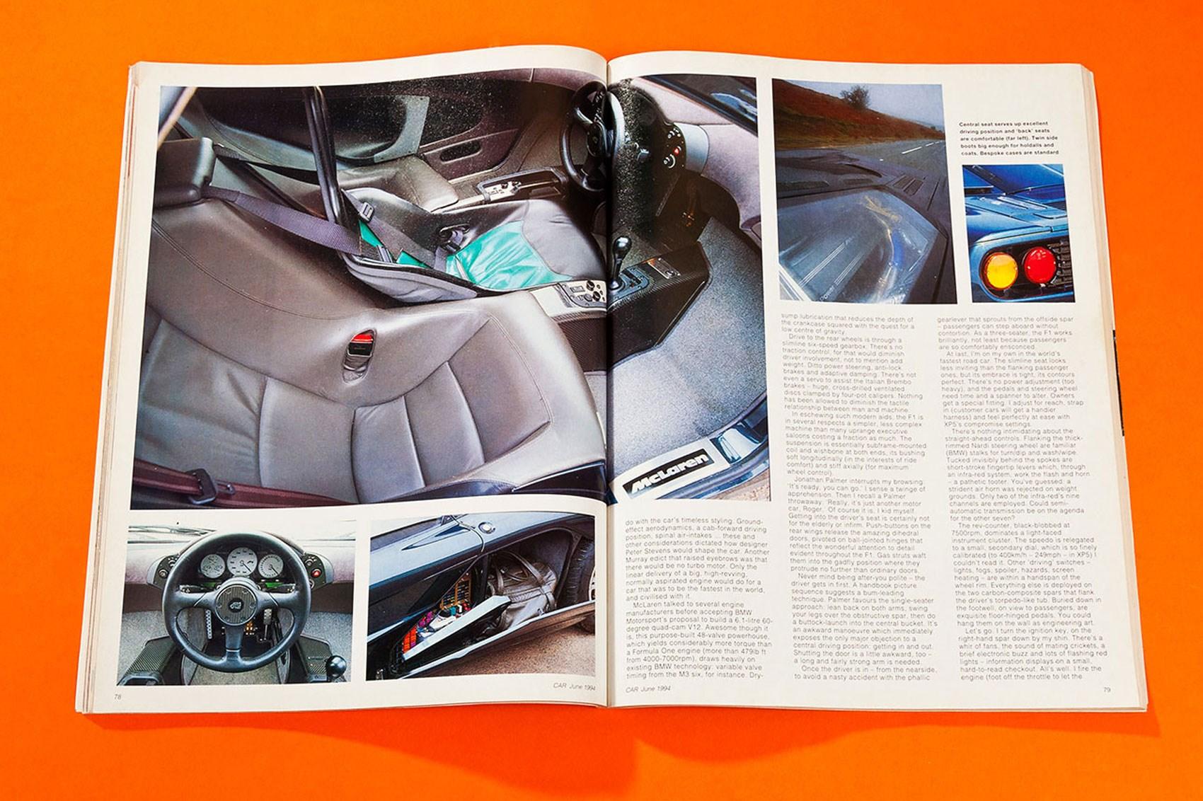 McLaren F1 review: our original 1994 road test | CAR Magazine