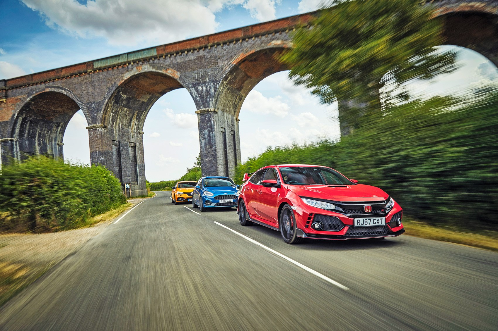 Megane RS Cup vs Civic Type R vs Fiesta ST triple test review | CAR