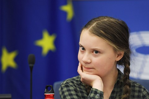 Greta Thunberg, the 16-year-old climate protester (Getty)