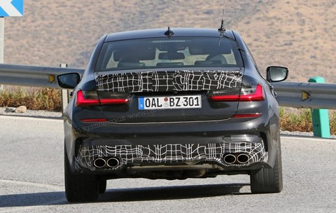The new 2020 Alpina B3 spied on test
