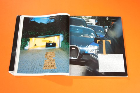 Three days with the Veyron, CAR magazine, September 2006