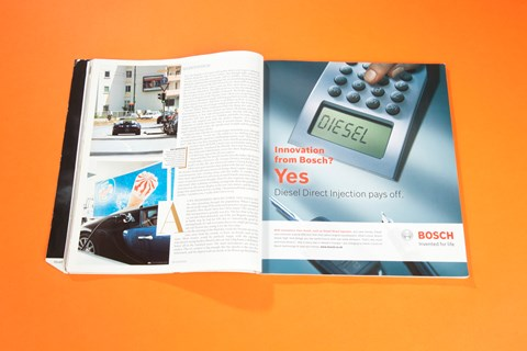 Three days with the Veyron, CAR magazine, September 2006